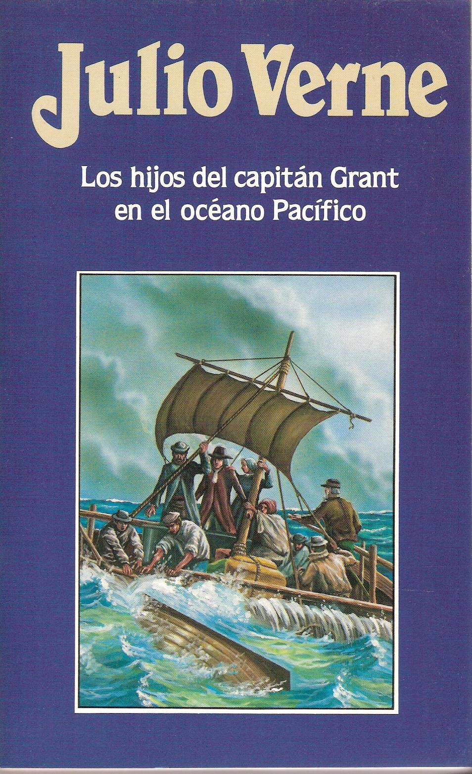 Los hijos del capitán Grant en el Océano Pacífico
