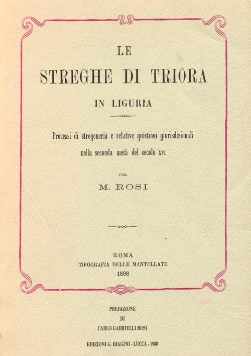 Le streghe di Triora in Liguria :