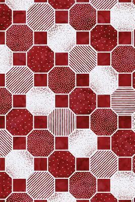 Journal Notebook Dotty Hexagon Pattern 13