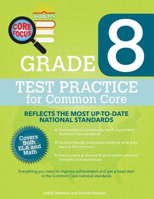 Grade 8 Test Practice for Common Core