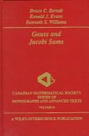Gauss and Jacobi sum...