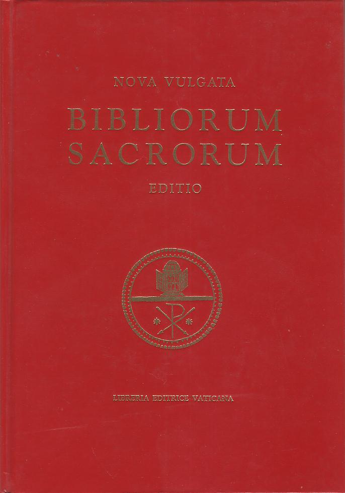 Bibliorum sacrorum nova vulgata editio