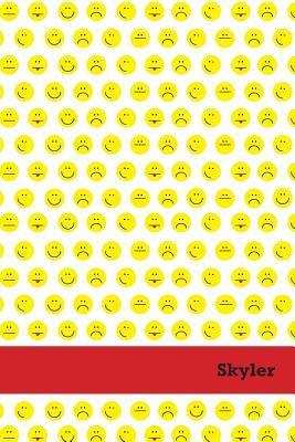 Etchbooks Skyler, Emoji, Wide Rule