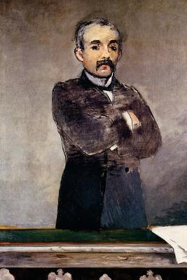 Portrait of Clemenceau at the Tribune by Edouard Manet - 1880 Journal