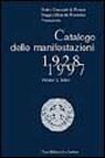 Catalogo delle manifestazioni 1928-1997