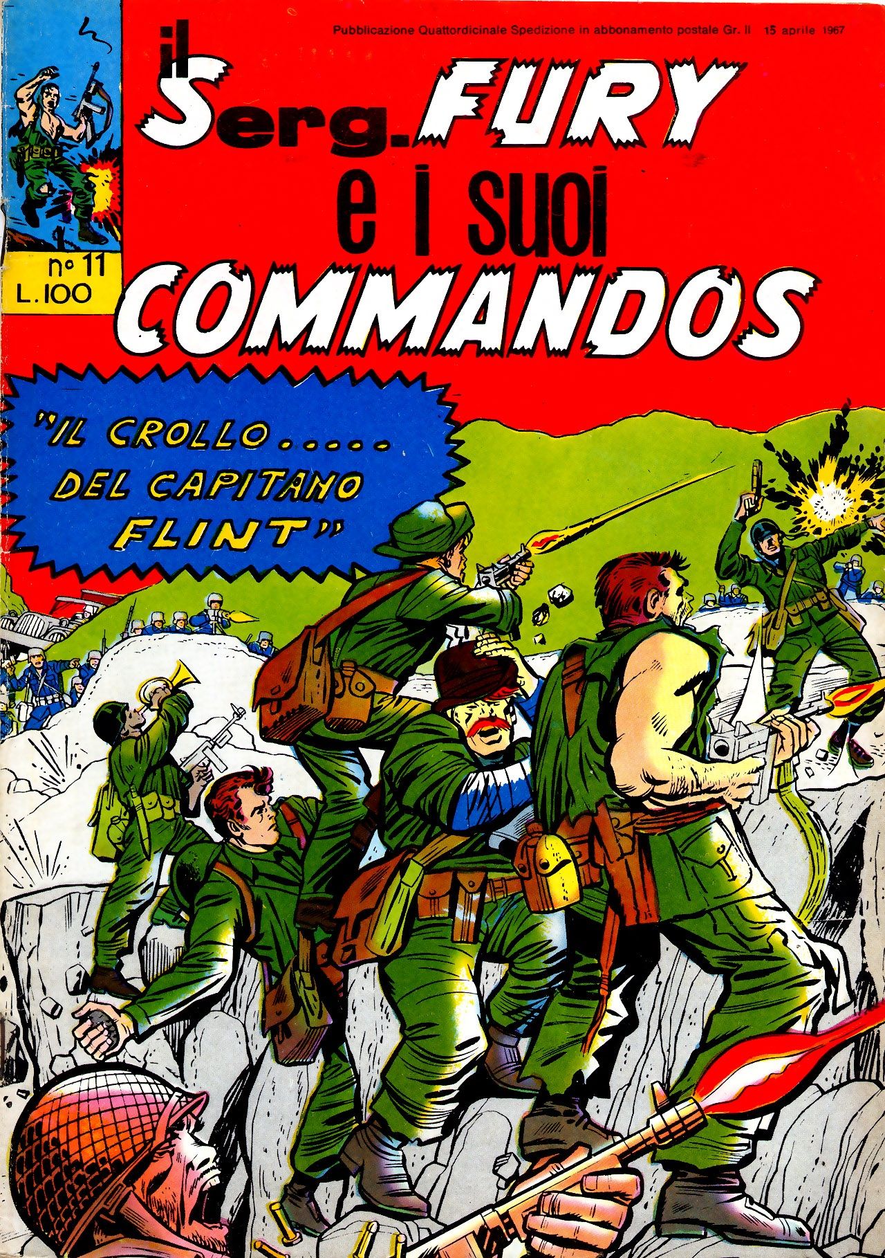 Il serg. Fury e i suoi commandos n. 11