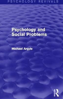 Psychology and Social Problems