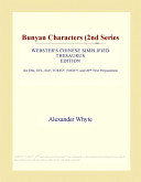 Bunyan Characters (2nd Series (Webster's Chinese Simplified Thesaurus Edition)