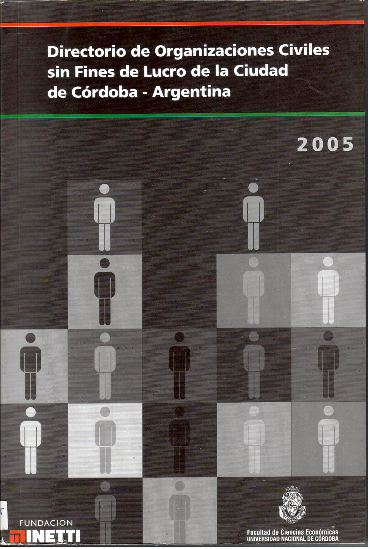 Directorio de Organizaciones Civiles sin Fines de Lucro de la Ciudad de Córdoba-Argentina