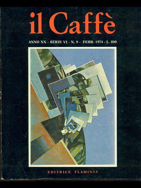 Il Caffè satirico di letteratura e attualità n.9 (1974)