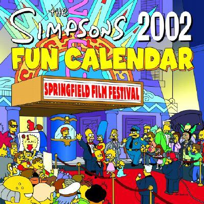 The Simpsons 2002 Fun Calendar