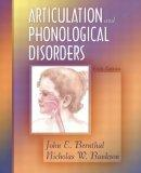 Articulation and Phonological Disorders, Fifth Edition