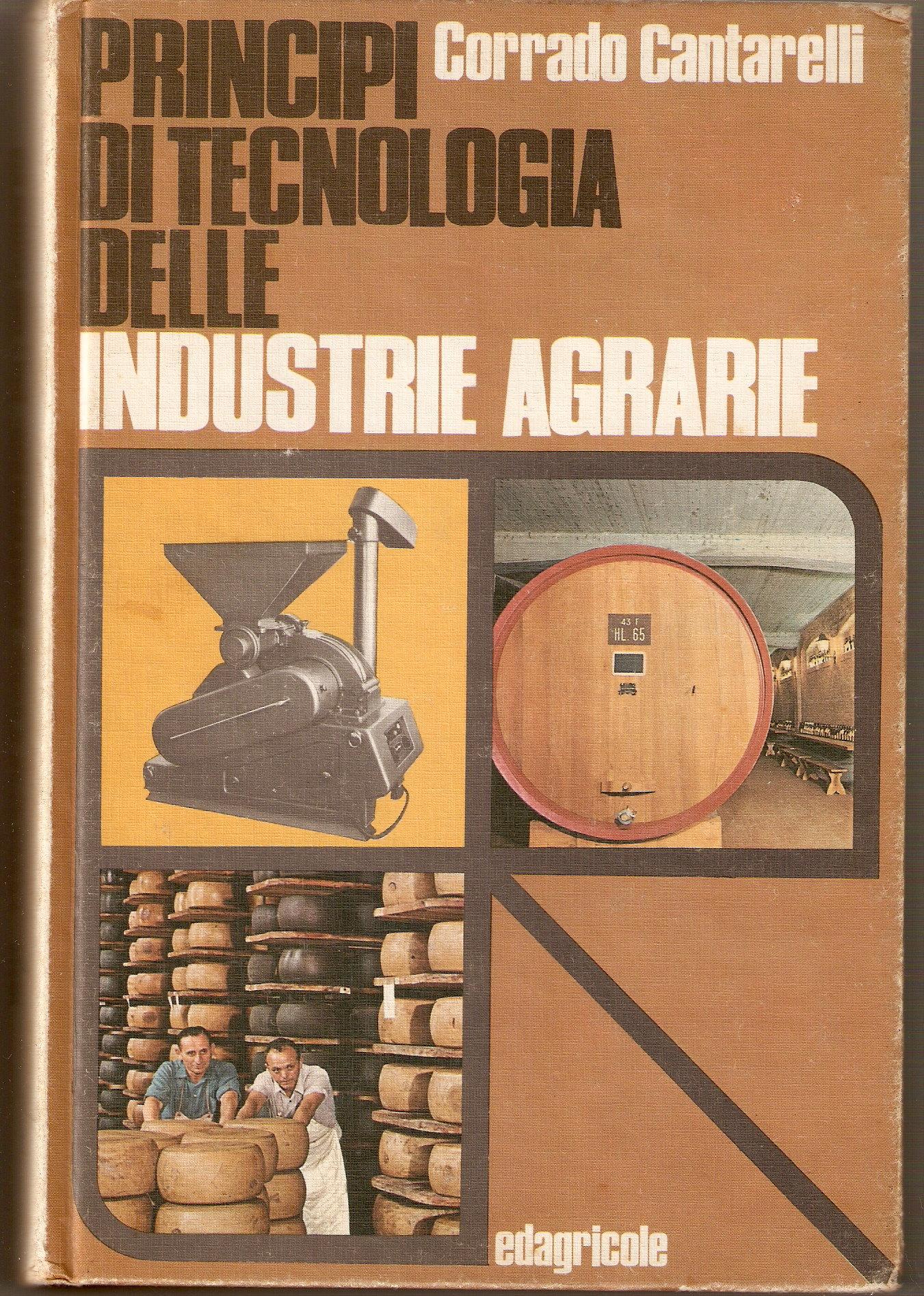 Principi di tecnologia delle industrie agrarie