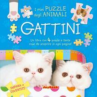 Gattini. Gioca e divertiti! Libro puzzle