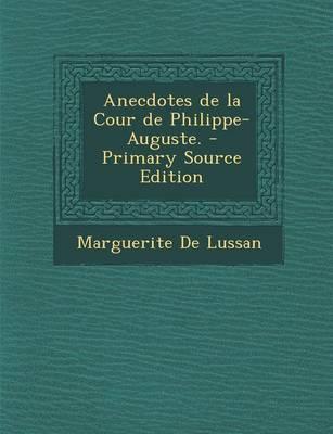 Anecdotes de La Cour...