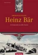 Oberstleutnant Heinz Bär
