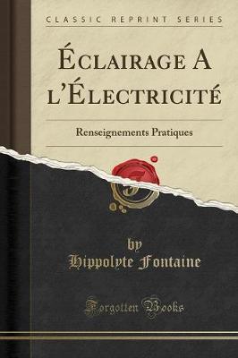 Éclairage A l'Électricité