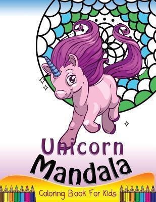Unicorn Mandala Coloring Book for Kids