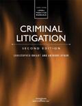 Criminal Litigation, 2nd Edition