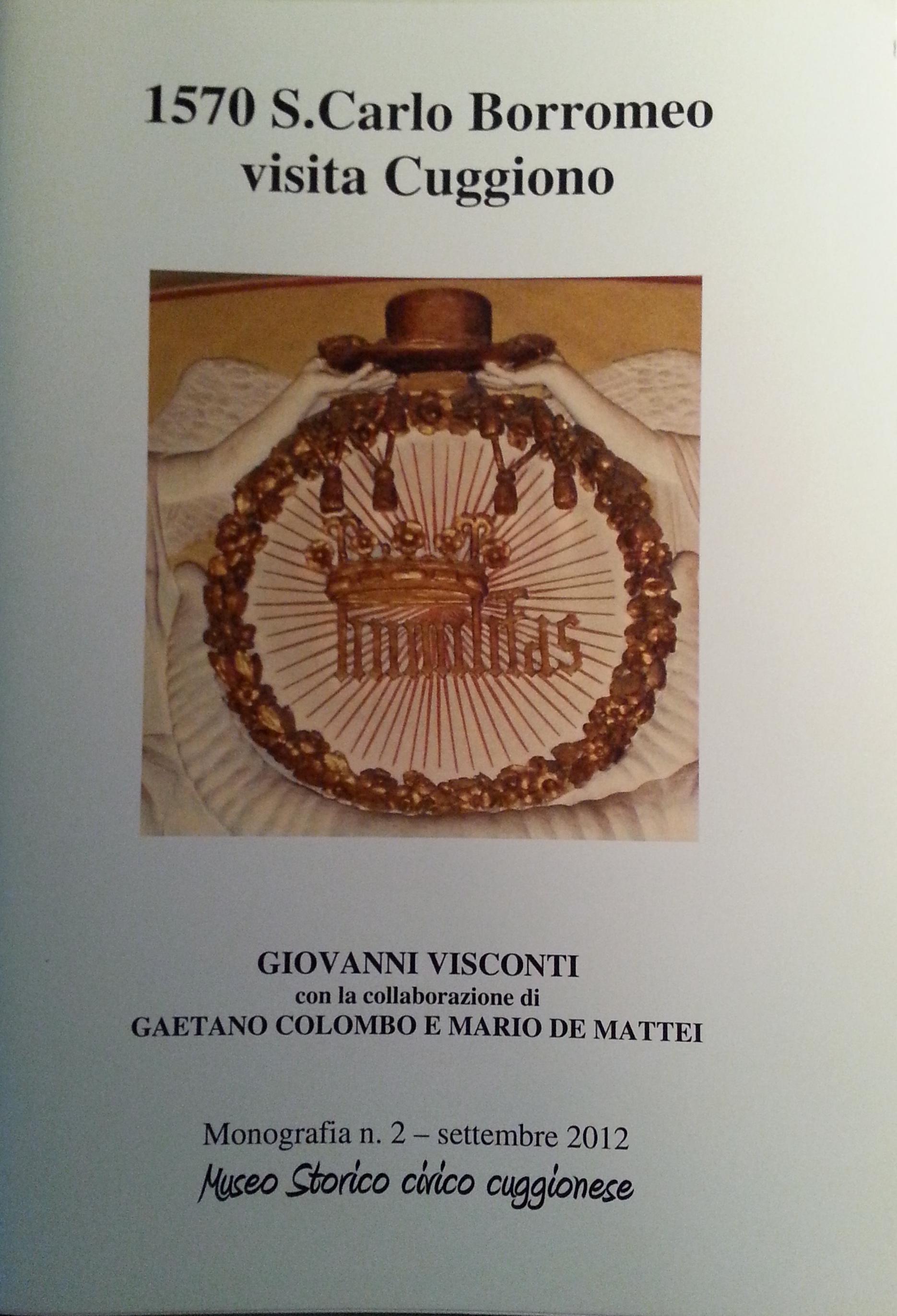 1570, S. Carlo Borromeo visita Cuggiono