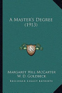 A Master's Degree