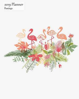 2019 Planner Flamingo
