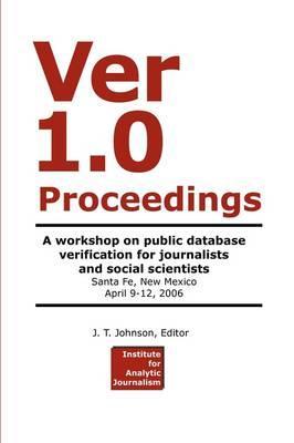 Ver 1.0 Workshop Proceedings
