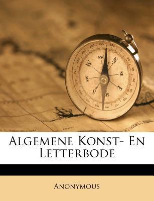 Algemene Konst- En Letterbode