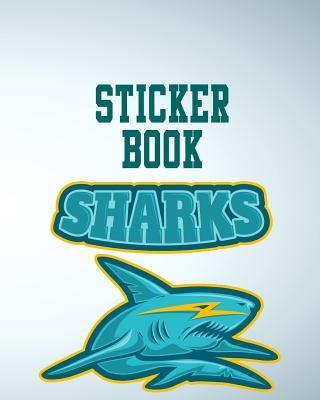Sticker Book Sharks