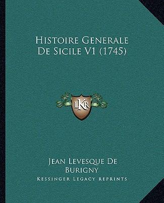 Histoire Generale de Sicile V1 (1745)
