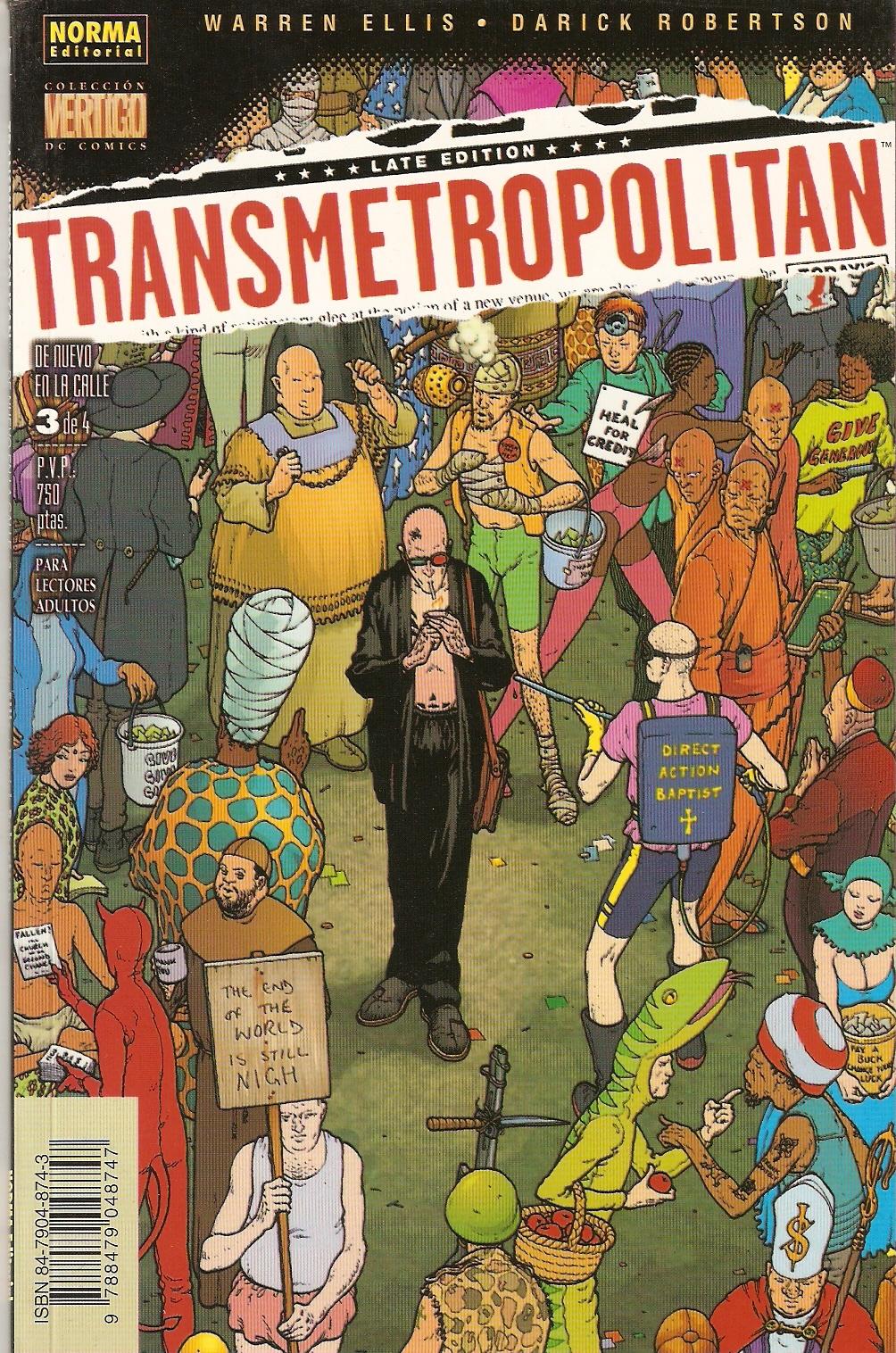 Transmetropolitan: D...