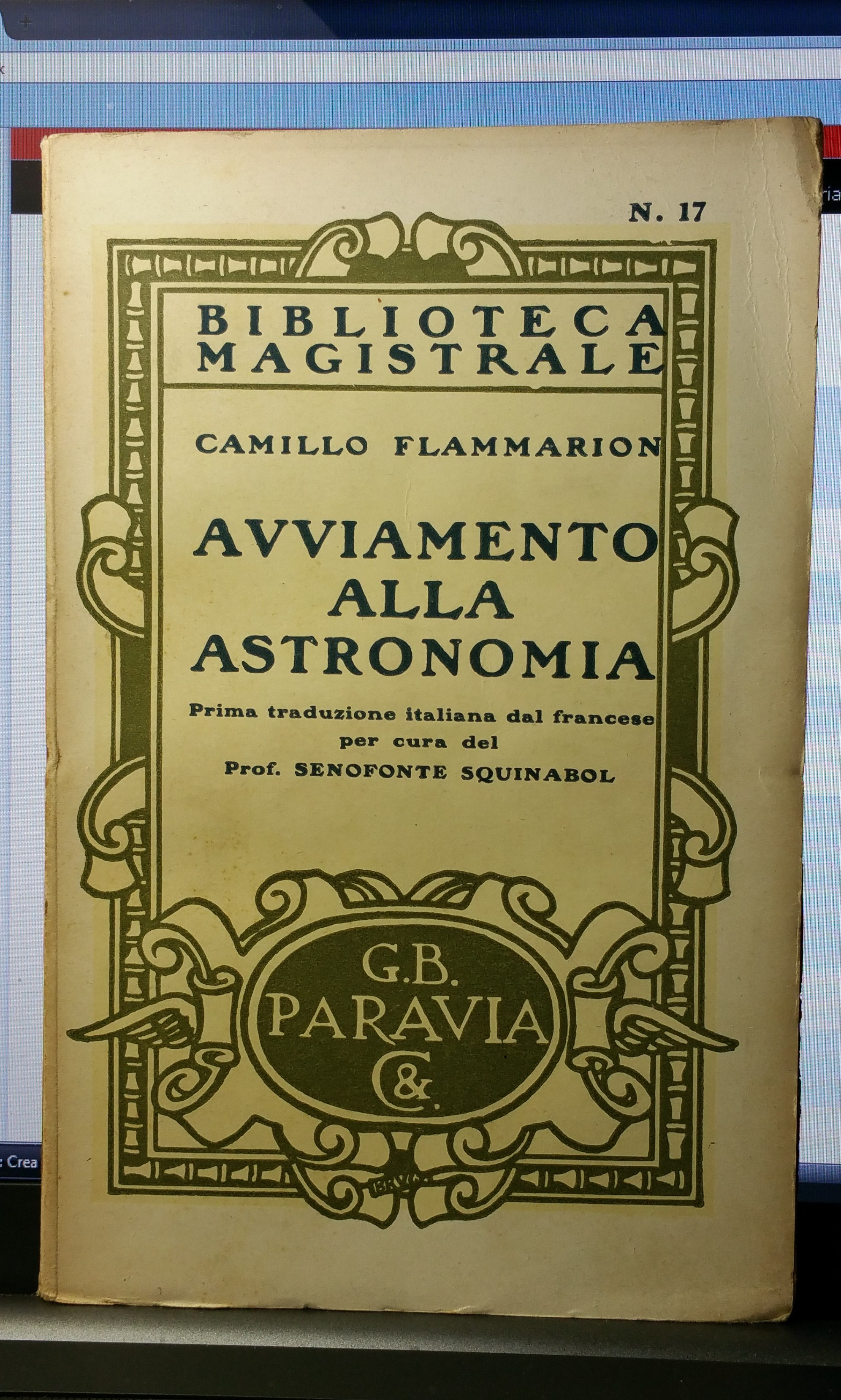 Avviamento all'astronomia