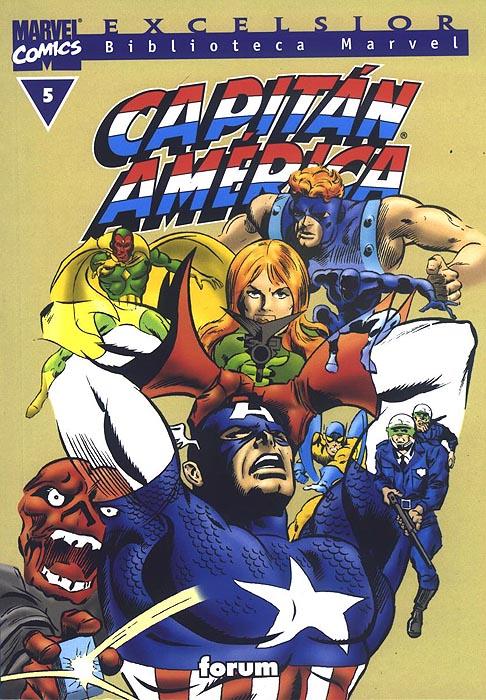 Biblioteca Marvel: Capitán América #5 (de 20)