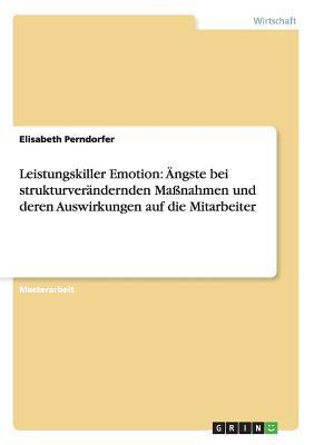 Leistungskiller Emotion