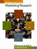 e-Study Guide for: Essentials of Marketing Research by William G. Zikmund, ISBN 9781439047545