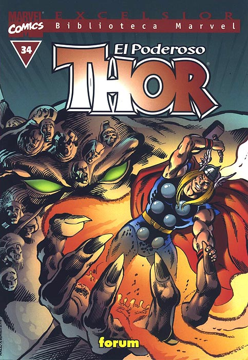 Biblioteca Marvel: Thor #34 (de 37)