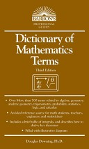 Dictionary of Mathematics Terms