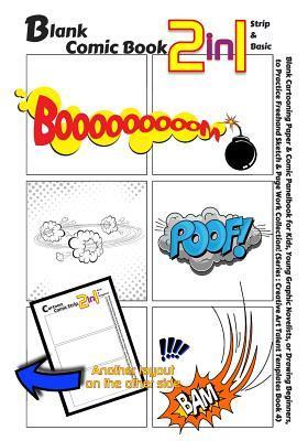 Blank Comic Book 2-in-1 Strip & Basic