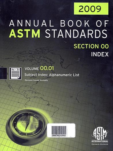 2009 Annual Book of Astm Standards