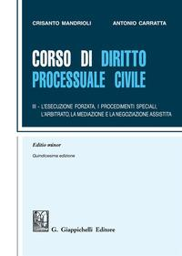 Corso di diritto processuale civile. Ediz. minore