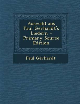 Auswahl Aus Paul Ger...