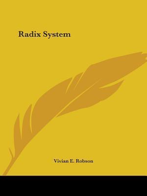 Radix System 1930