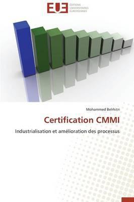 Certification Cmmi