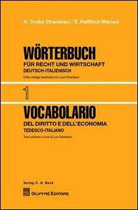 Vocabolario del diritto e dell'economia