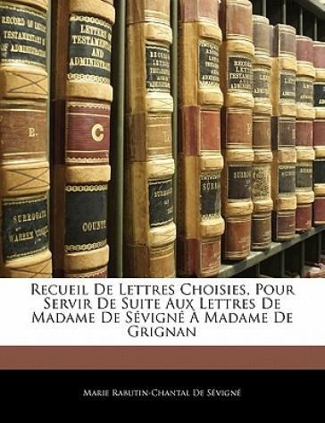 Recueil De Lettres C...