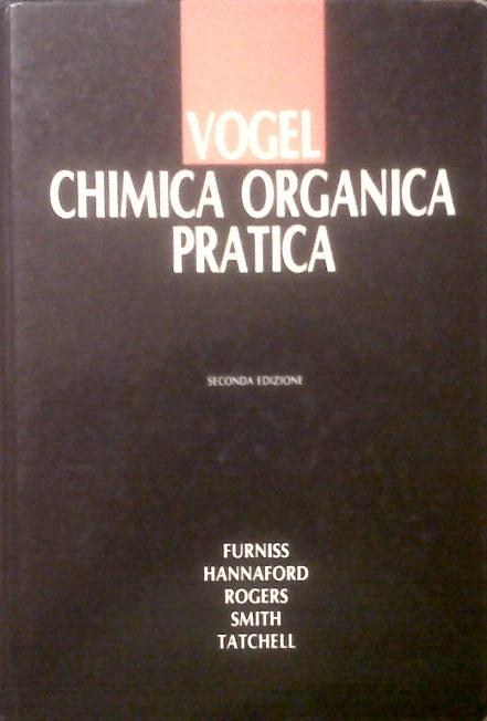 Vogel chimica organica pratica