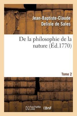 De la Philosophie de...