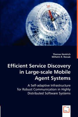 Efficient Service Discovery in Large-scale Mobile Agent Systems