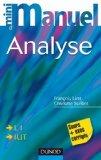Mini manuel d'analyse L1, IUT