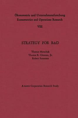 Strategy for R&d
